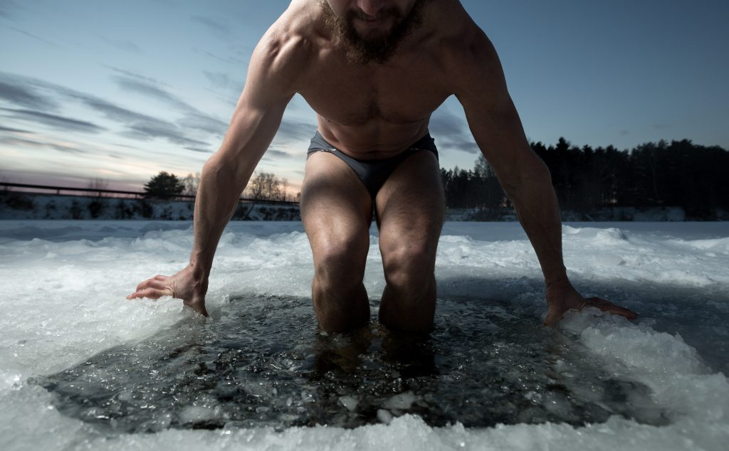 Ice bath – winter swimming