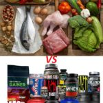 Proteins vs. natural nutrition (supplements)